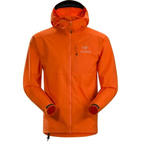 Arc'teryx WINDSHELL Jacket Men's Squamish Hoody Trail Blaze Red