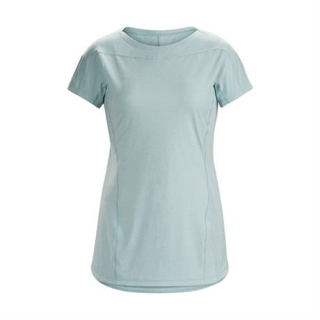 Arc'teryx BASE LAYER Top Women's Taema Crew SS Continuum Grey