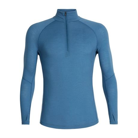 Icebreaker BASE LAYER Top Men's 150 Zone LS 1/2 Zip Thunder/Monsoon