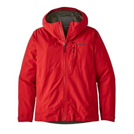 Patagonia WATERPROOF Jacket Men's Calcite Fire