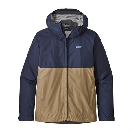 Patagonia WATERPROOF Jacket Men's Torrentshell Classic Navy/Mojave Khaki