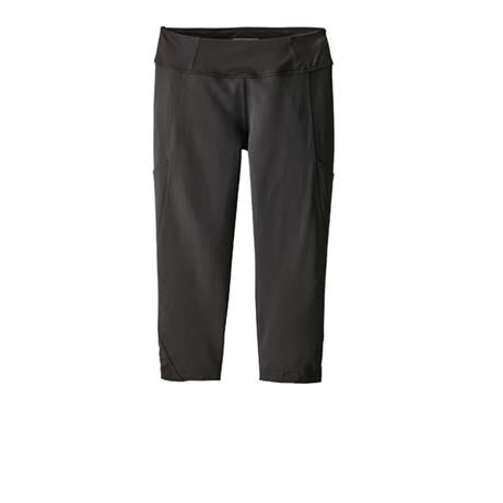 "Patagonia Pants Women's Fina Rock Crops 18"" Black"