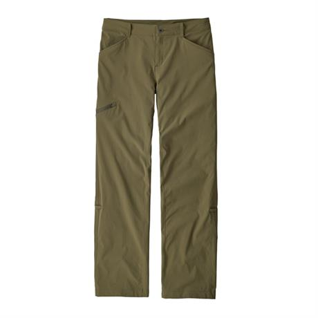 Patagonia Pants Women's Quandary REGULAR Leg Trousers Fatigue Green