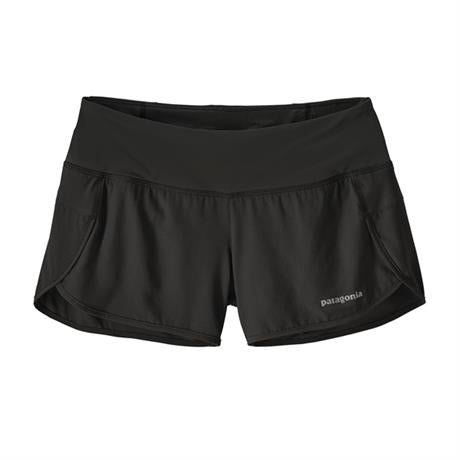 "Patagonia Shorts Women's Strider 3 1/2"" Black"