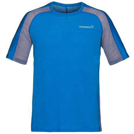 Norrona BASE LAYER Top Men's Bitihorn Wool T-Shirt Hot Sapphire