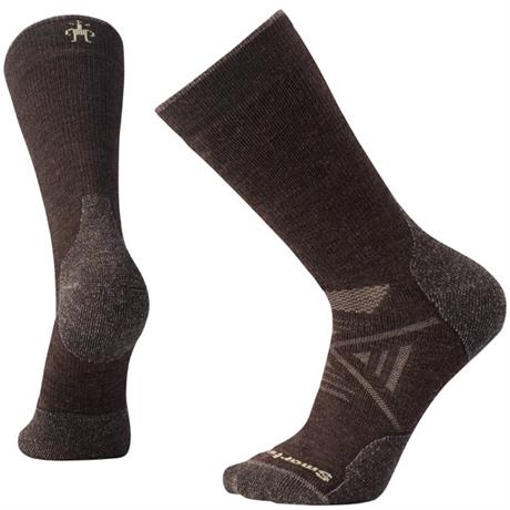 Smartwool HIKING Socks Men's PhD Outdoor Medium Crew Chestnut