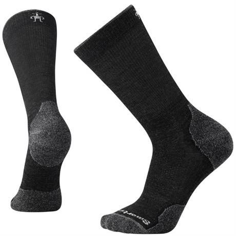 Smartwool HIKING Socks Men's PhD Outdoor Light Crew Charcoal
