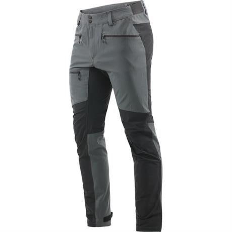 Haglofs Pants Men's Rugged Flex REGULAR Leg Trousers Magnetite/Black