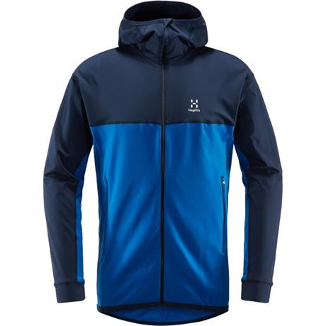 Haglofs FLEECE Jacket/Top Men's Lithe Hood Storm Blue/Tarn Blue