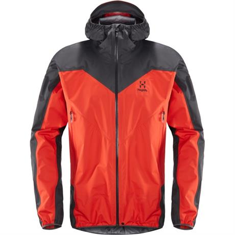 Haglofs WATERPROOF Jacket Men's LIM Comp Pop Red/Slate