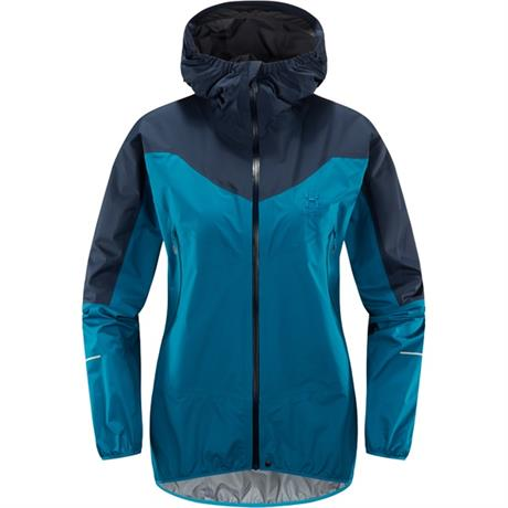 Haglofs WATERPROOF Jacket Women's LIM Comp Mosaic Blue/Tarn Blue