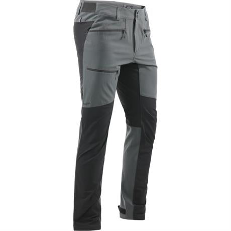 Haglofs Pants Men's Rugged Flex SHORT Leg Trousers Magnetite/Black