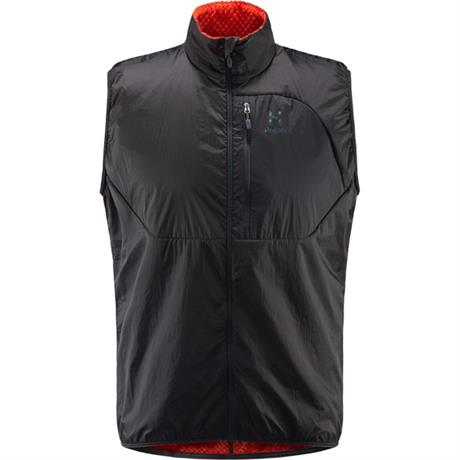 Haglofs INSULATED Top Men's Proteus Vest Slate/Pop Red