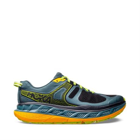 Hoka Running Shoes Men's Stinson ATR 5 Mallard Green/Gold Fusion