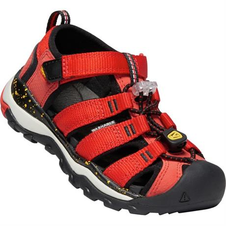 Keen Sandals Kid's Newport H2 CHILD Fiery Red/Golden Rod