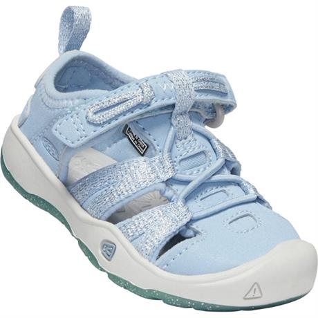 Keen Sandals Kid's Moxie TOTS Powder Blue/Vapour