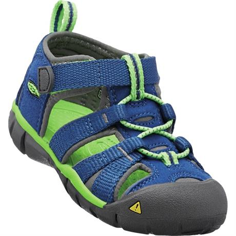 Keen Sandals Kid's Seacamp II CNX TOTS True Blue/Jasmine Green