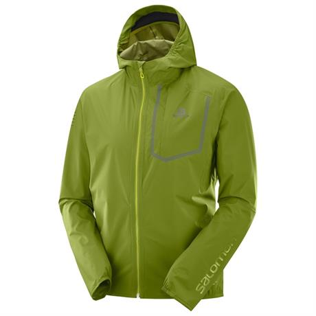 Salomon WATERPROOF Jacket Men's Bonatti Pro WP Avocado