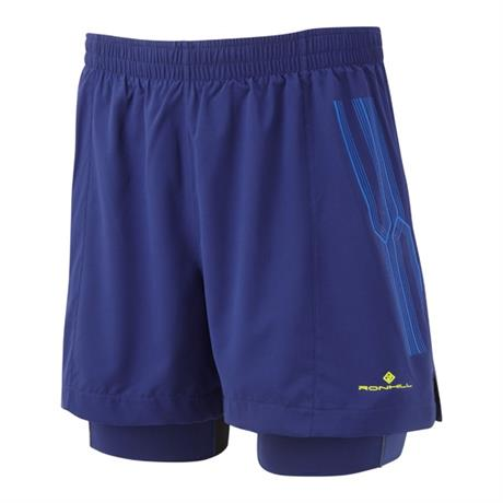 Ronhill Shorts Men's Infinity Marathon Twin Midnight Blue/Azurite