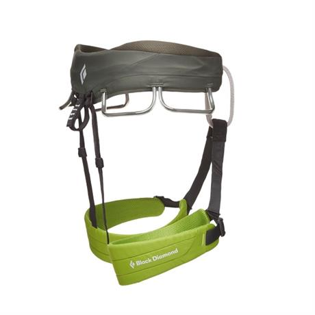 Black Diamond Climbing Harness Men's Momentum Verde
