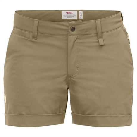 Fjall Raven Shorts Women's Abisko Stretch Sand