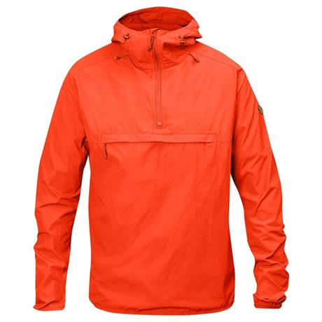 Fjall Raven SOFTSHELL Top Men's High Coast Wind Anorak Flame Orange