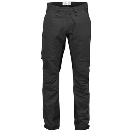 Fjall Raven Pants Men's Abisko Lite Trekking REGULAR Leg Trousers Dark Grey