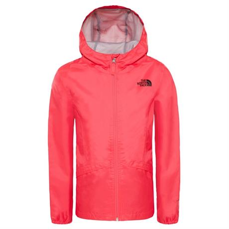 North Face WATERPROOF Jacket Girl's Zipline Rain Atomic Pink