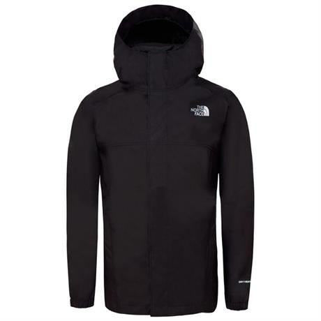 North Face WATERPROOF Jacket Boy's Reflective Resolve TNF Black