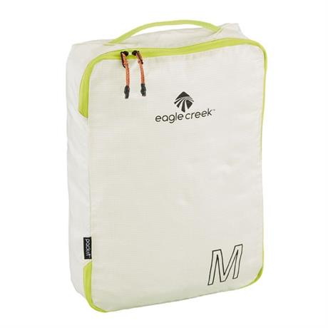Eagle Creek Travel Luggage: Pack-It Specter Tech Cube MEDIUM White/Green