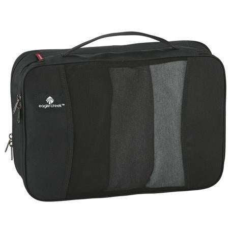 Eagle Creek Travel Luggage: Pack-it Original Clean and Dirty Cube MEDIUM Black