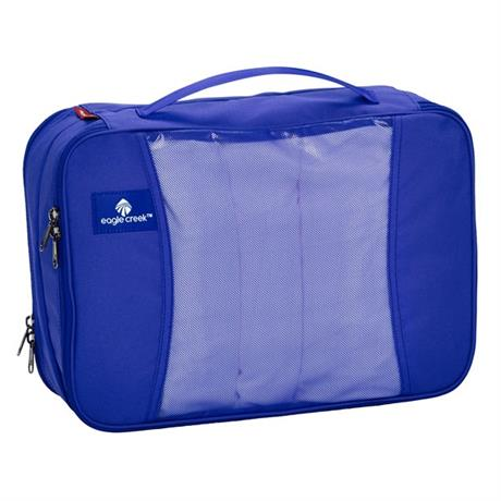Eagle Creek Travel Lugagge: Pack-it Original Clean and Dirty Cube MEDIUM BlueSea