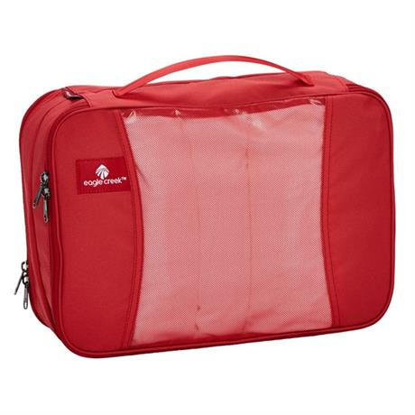 Eagle Creek Travel Luggage: Pack-it Original Clean and Dirty Cube MEDIUM RedFire
