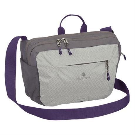 Eagle Creek Travel Bag Wayfinder Crossbody Graphite/Amethyst