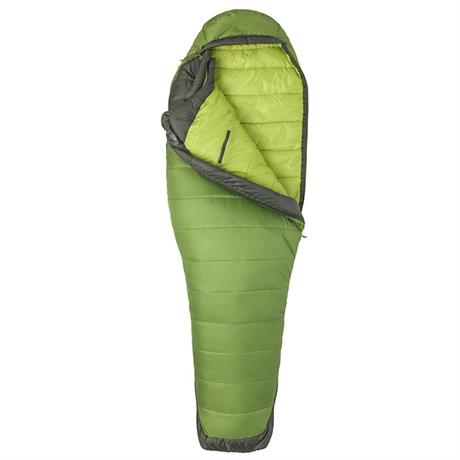 Marmot Sleeping Bag Women's Trestles Elite Eco 30 LONG Wheatgrass/Crocodile