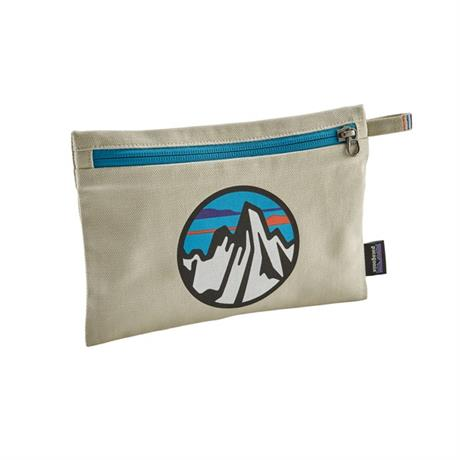 Patagonia Zippered Pouch Fitz Roy Scope Icon/Bleached Stone