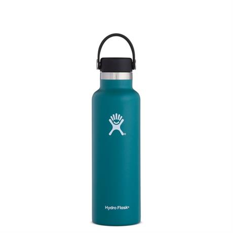 Hydro Flask HYDRATION 21oz / 0.6 L Standard Mouth Bottle Jade