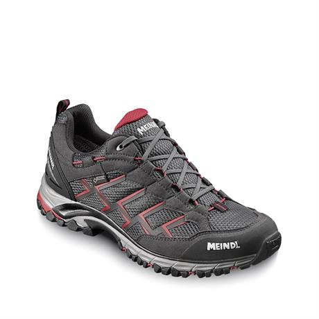 Meindl Shoes Men's Caribe Slim GTX Black/Red