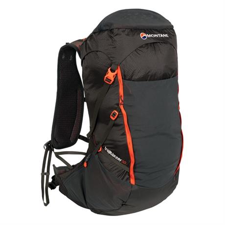 Montane Pack Trailblazer 30 Rucksack Charcoal/Firefly Orange