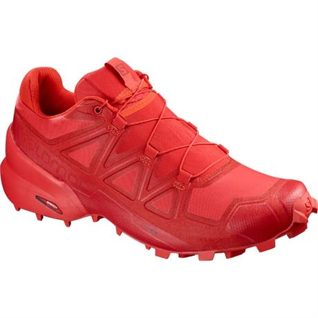 Salomon Shoes Men's Speedcross 5 High Risk Red/Black Cherry