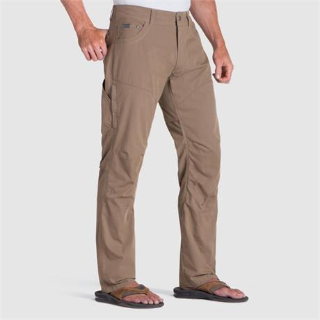 "Kuhl Pants Men's Konfidant Air SHORT Leg (30"") Trousers Dark Khaki"