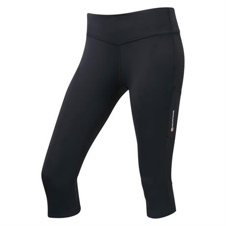 Montane Pants Women's Trail Series 3/4 Tights Black