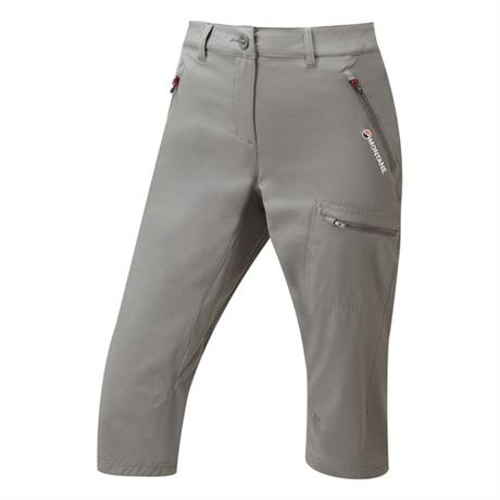 Montane Pants Women's Dyno Stretch Capri Mercury/Saskatoon Berry