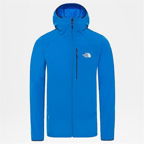 North Face SOFTSHELL Jacket Men's North Dome Stretch Wind Bomber Blue