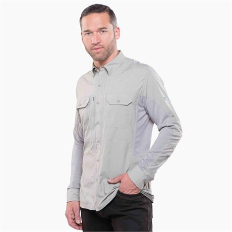 Kuhl Top Men's Airspeed LS Shirt Khaki