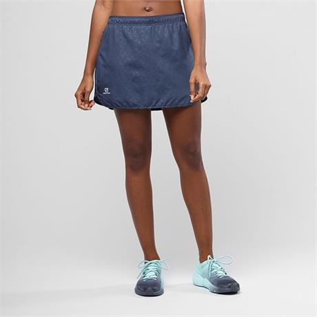 Salomon Skort Women's Agile Graphite