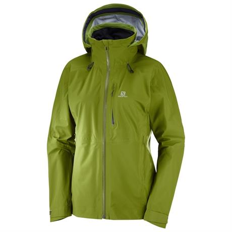 Salomon WATERPROOF Jacket Women's One & Only Avocado