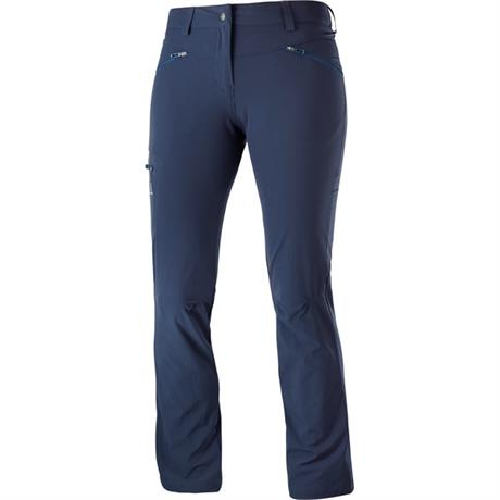 Salomon Pants Women's Wayfarer SHORT Leg Trousers Night Sky