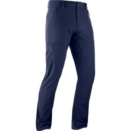 Salomon Pants Men's Wayfarer REGULAR Leg Trousers Night Sky