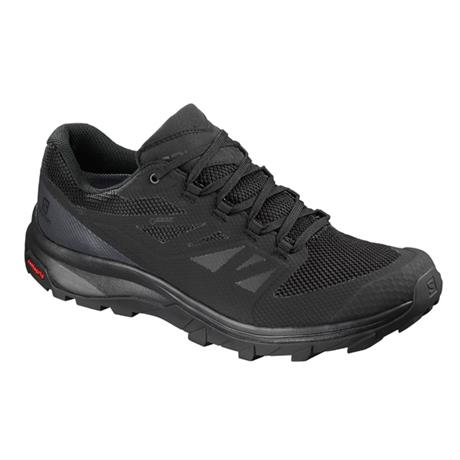 Men's Salomon Outline GORE-TEX Hiking Shoe - Black/Phantom/Magnet